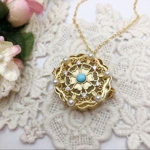 S925 Locket Necklace